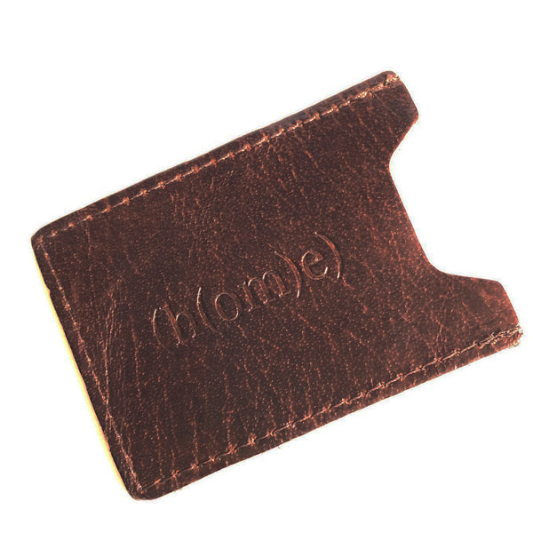 Leather Sleeve Credit Card Wallet C
