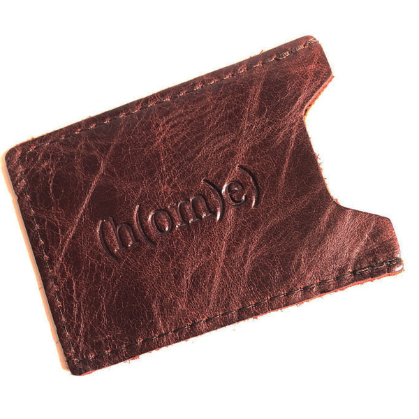 Leather Sleeve Credit Card Wallet E
