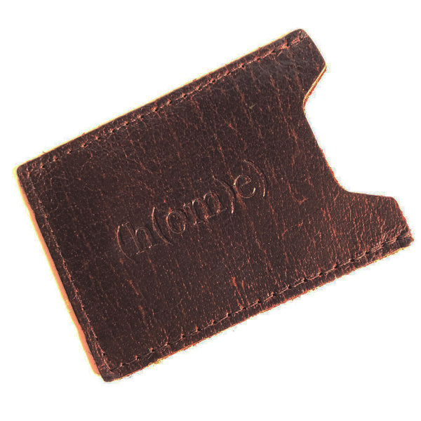 Leather Sleeve Credit Card Wallet F