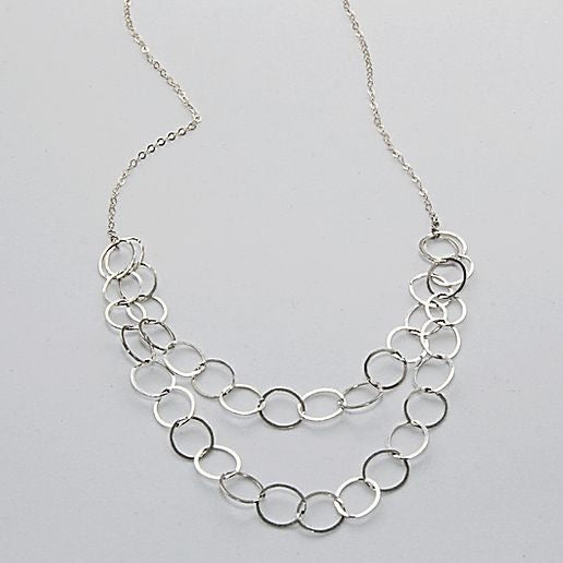 Double Strand Loopy Necklace