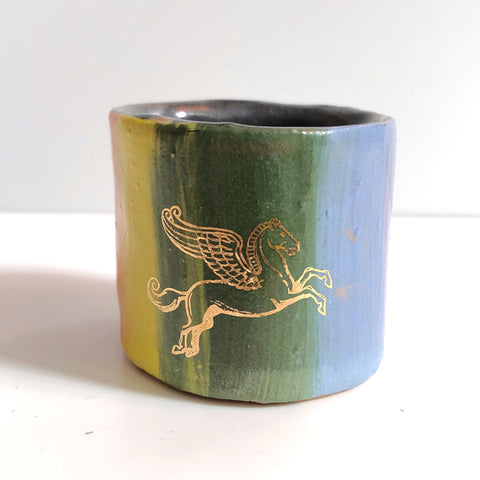 Small One-Of-A-Kind Unicorn Cup D