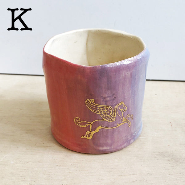Small One-Of-A-Kind Unicorn Cups