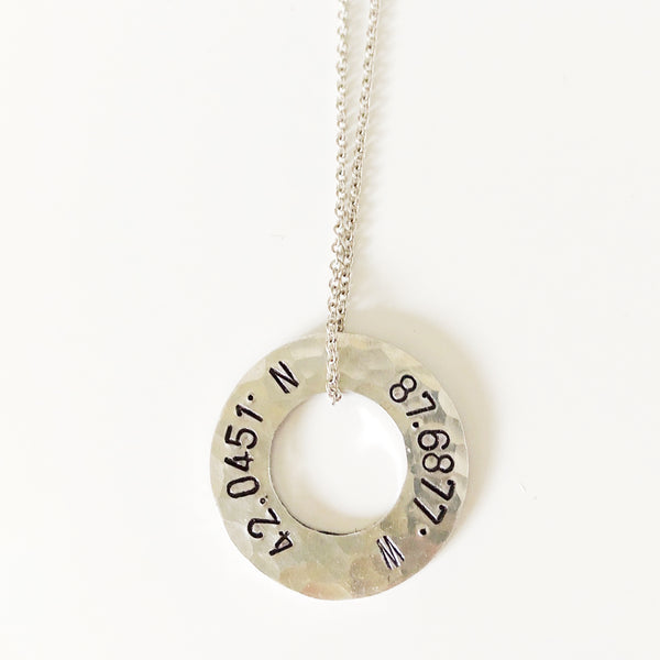 Evanston Coordinates Necklace