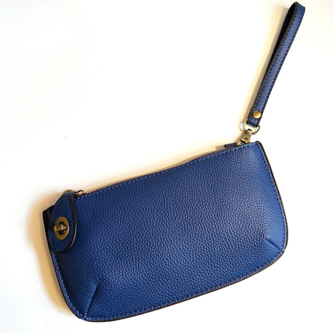 Royal Blue Crossbody Clutch On-The-Go Purse