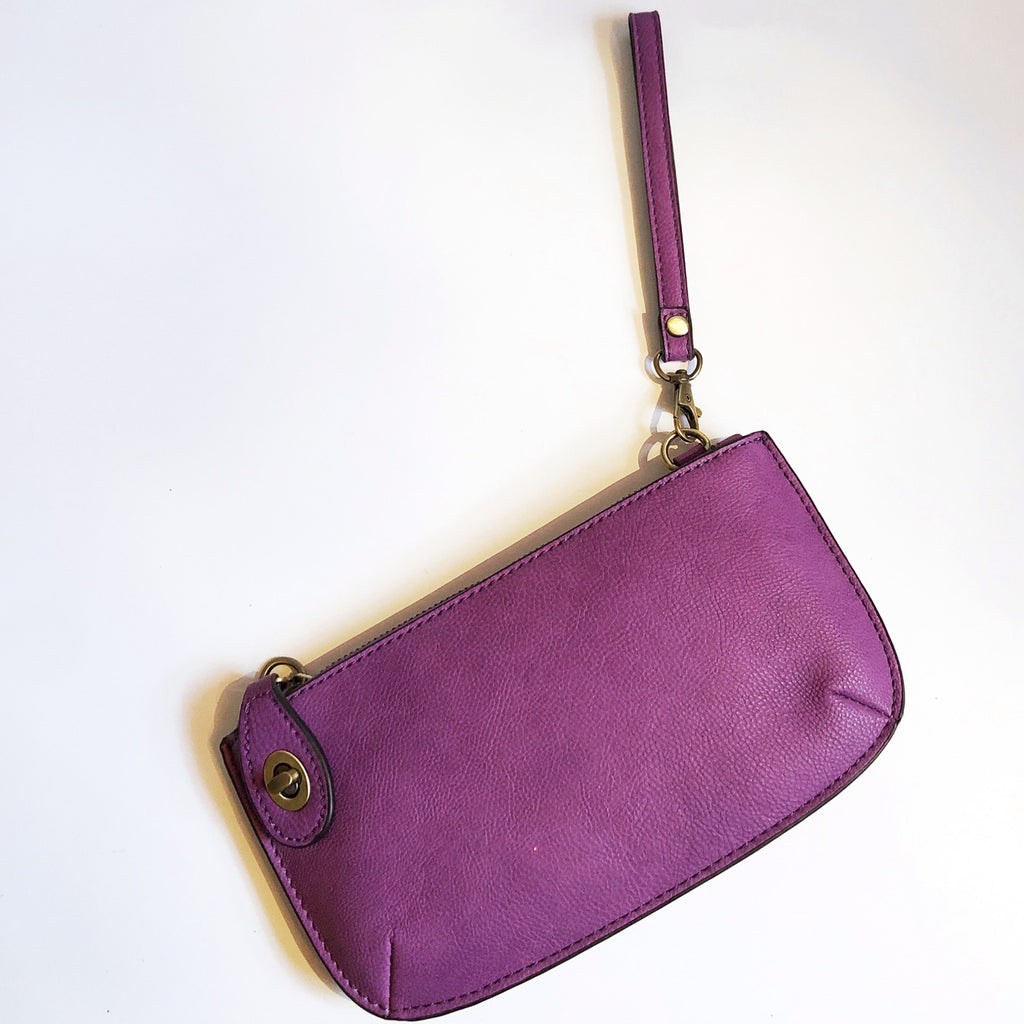 Orchid Crossbody Clutch On-The-Go Purse