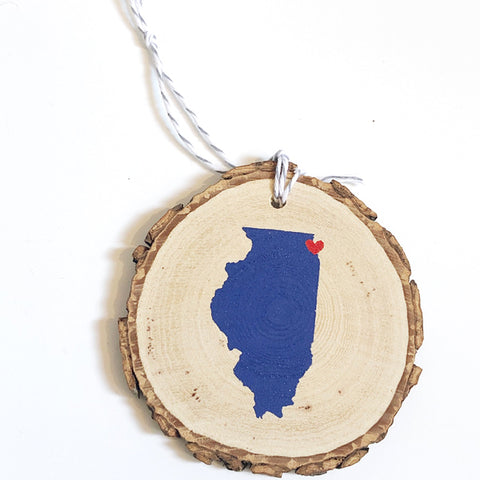 ***SALE*** Evanston/Chicago Love Ornament