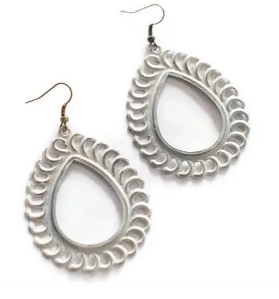 Lacy Loop Earrings