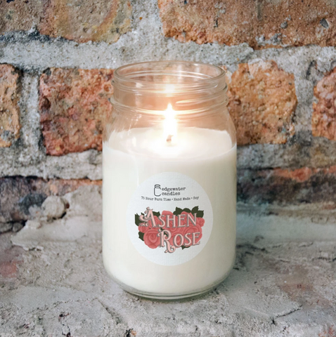 Ashen Rose Candle
