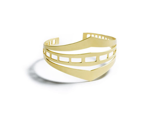 Bay Bridge Brass Cuff