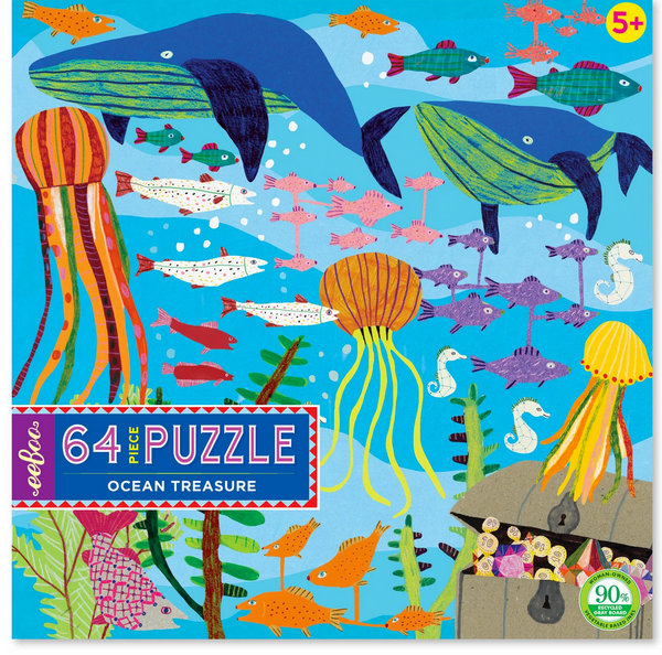 Ocean Treasure 64 Piece Puzzle