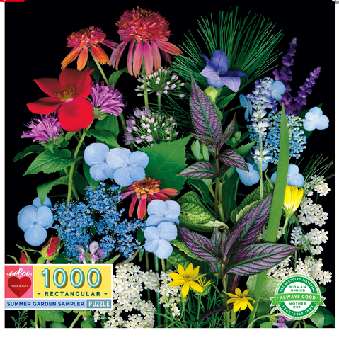 Summer Garden Sampler 1000 Piece Puzzle