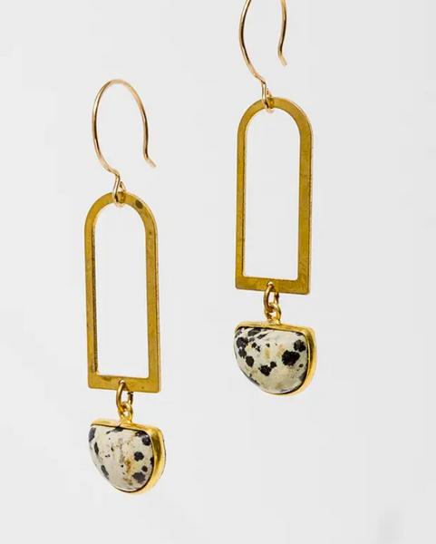 Jasper Casablanca Earrings