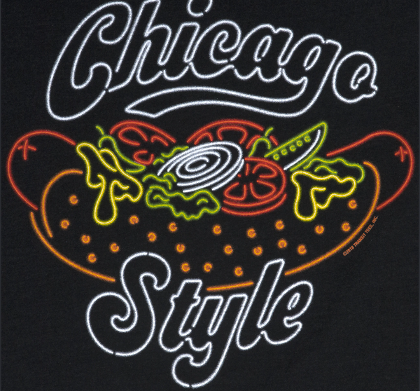 ***SALE*** SMALL - Chicago Style Hot Dog T-Shirt