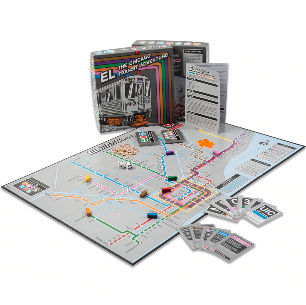 CHICAGO TRANSIT BOARD GAME