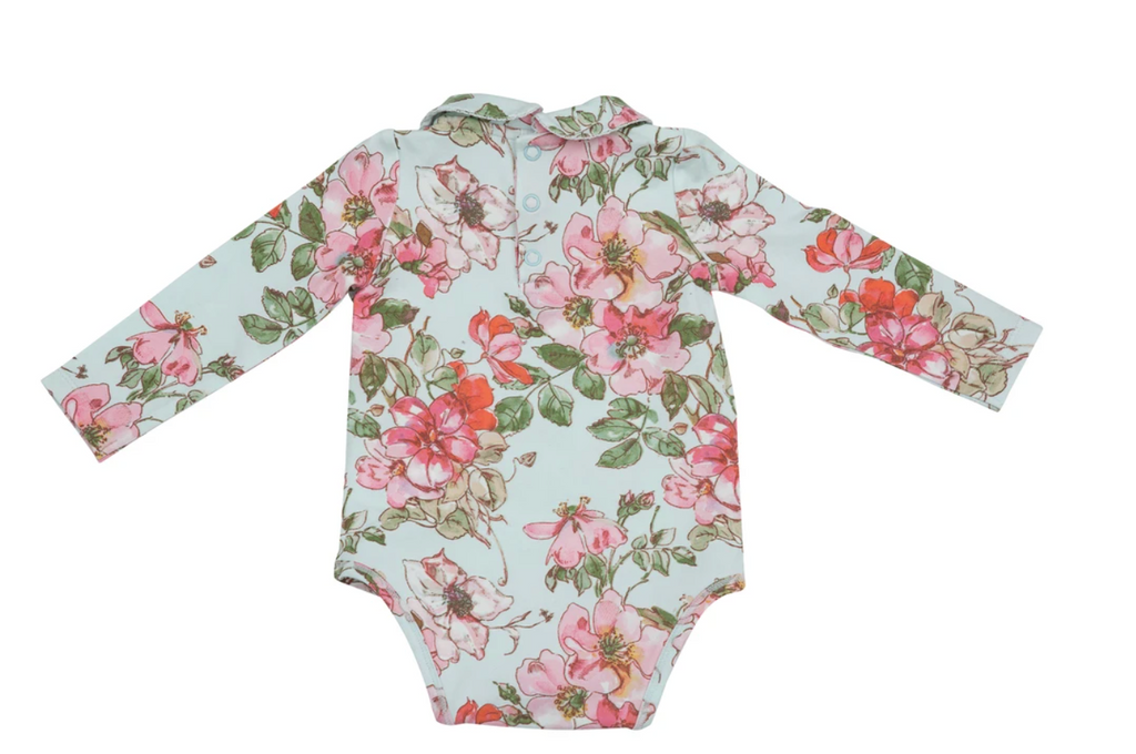 Floral Watercolor Onesie