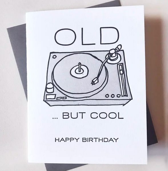 Old but Cool Birthday Card