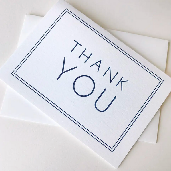 Frame Thank You Card