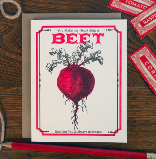You Make My Heart Skip A Beet
