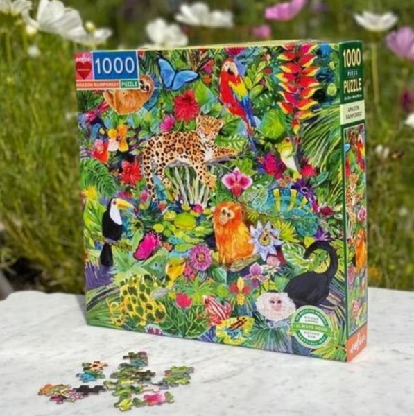 Amazon Rainforest 1000 Piece Puzzle