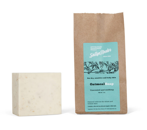 Handmade Soothing Oatmeal Soap