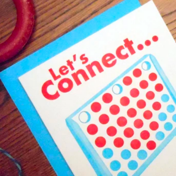 Let's Connect Card
