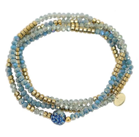 The Wanderer Wrap Bracelet or Necklace