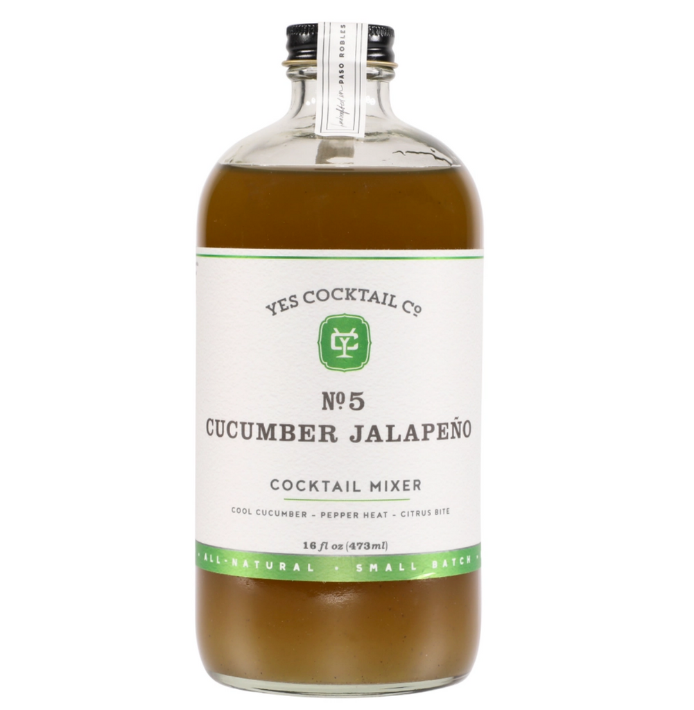 Cucumber Jalapeño Cocktail Mixer
