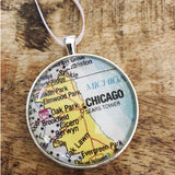 Chicago Map Ornament