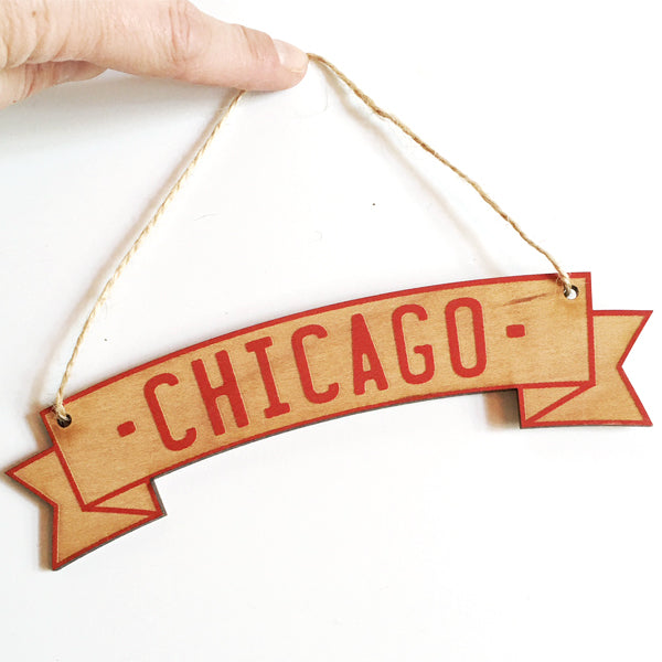 ***SALE*** Chicago Ornament/ Wall Hanging