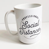 15 oz. Professional Social Distancer Mug