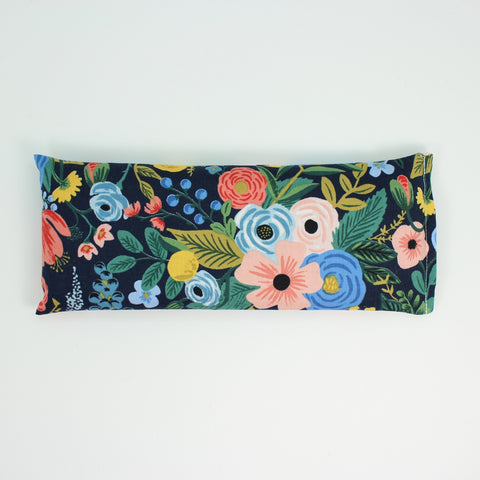 Navy Floral Sweet Dreams Eye Pillow