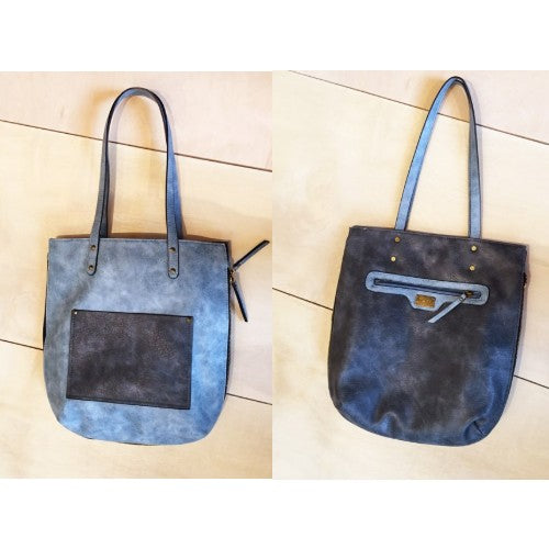 Vegan Leather 2-in-1 Zoe Tote