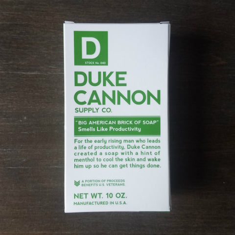 Duke Cannon Productivity Soap