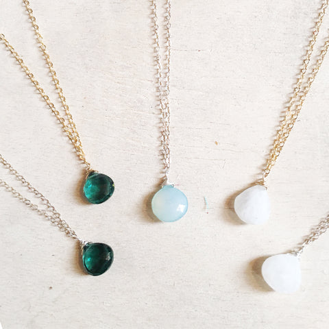 Everyday Drop Necklace