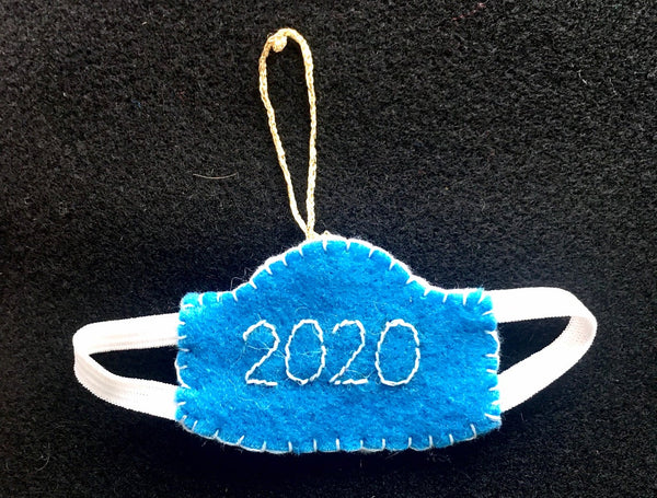 *PRE-SALE* Face Mask 2020 Ornament
