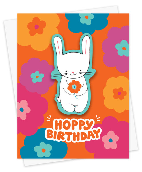 Hoppy Birthday Sticker Card