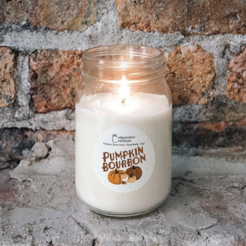 Pumpkin Bourbon Candle