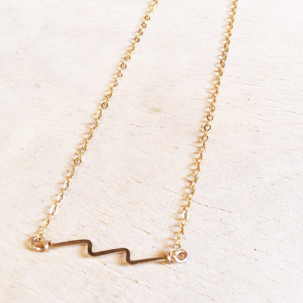 Lighting Bolt Necklace