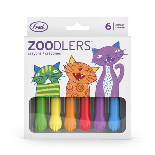 Zoodlers - Colorful Cat Crayons