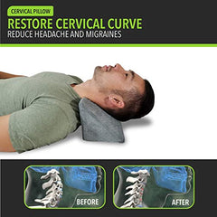 Cervical Traction Wedge Pillow