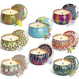 8 Pack Aromatherapy Travel Candle Set
