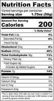 cinnamon & sugar pretzels nutrition
