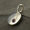 Sterling Silver Birthstone Charms - Poppies Beads n' More