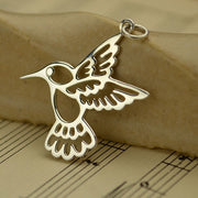 Hummingbird Charm - Poppies Beads n' More