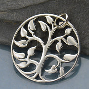 Tree of Life Charm, - Poppies Beads n' More