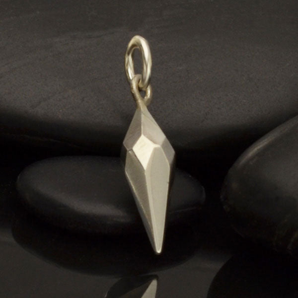 Faceted Spike Charm - Poppies Beads n' More