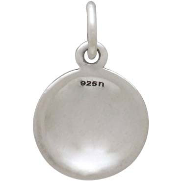 Sterling Silver Volleyball Charm - Poppies Beads n' More