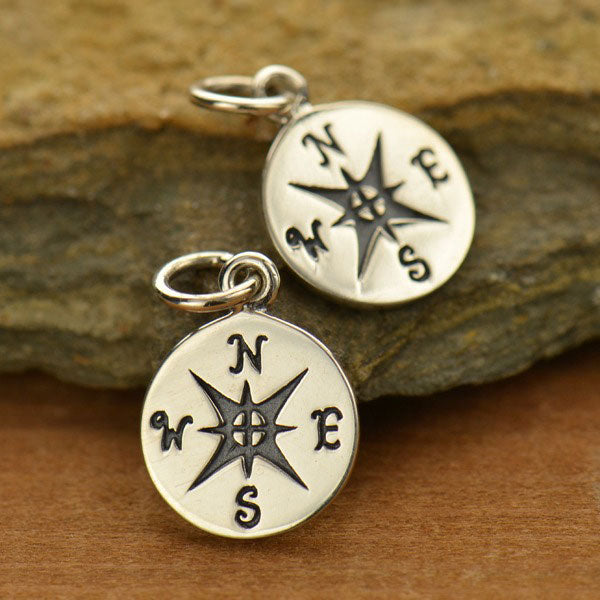 Small Compass Charm
