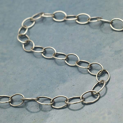 Sterling Silver Chain by the Foot - Extender Chain - Poppies Beads n' More
