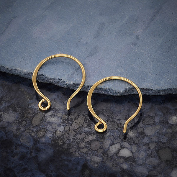 Circle Shaped Ear Wire